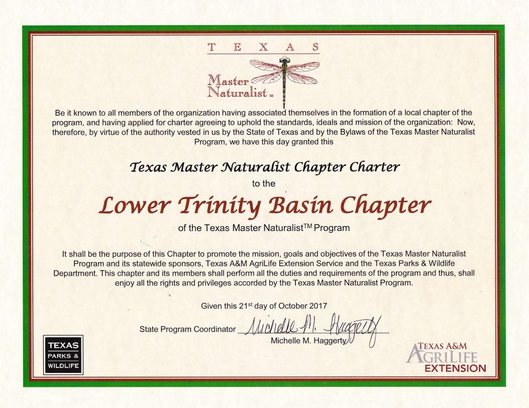 Formal LTB Charter